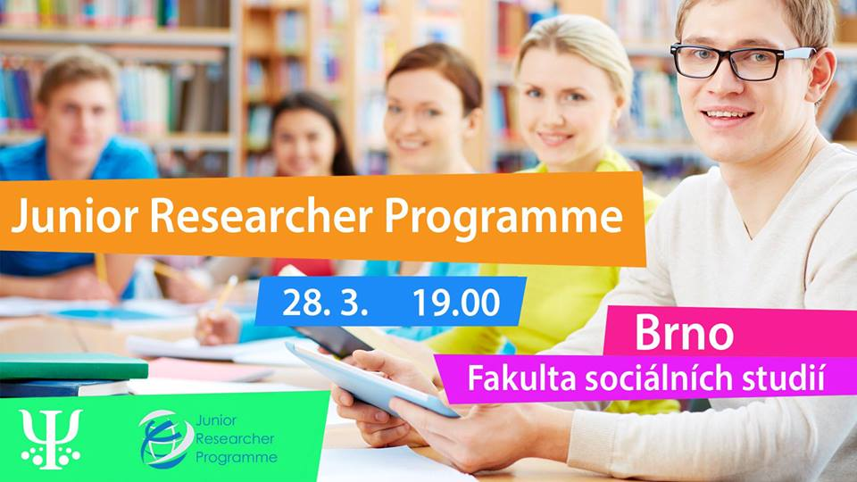 Beseda o Junior Researcher Programme